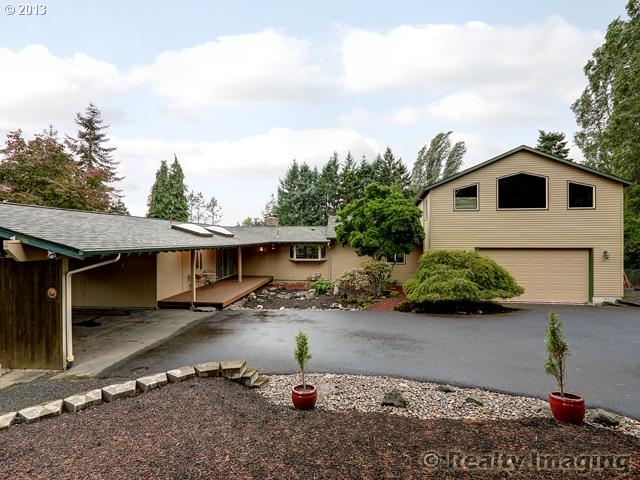 Bull Mountain Classic Mid-Century on 2  Acres